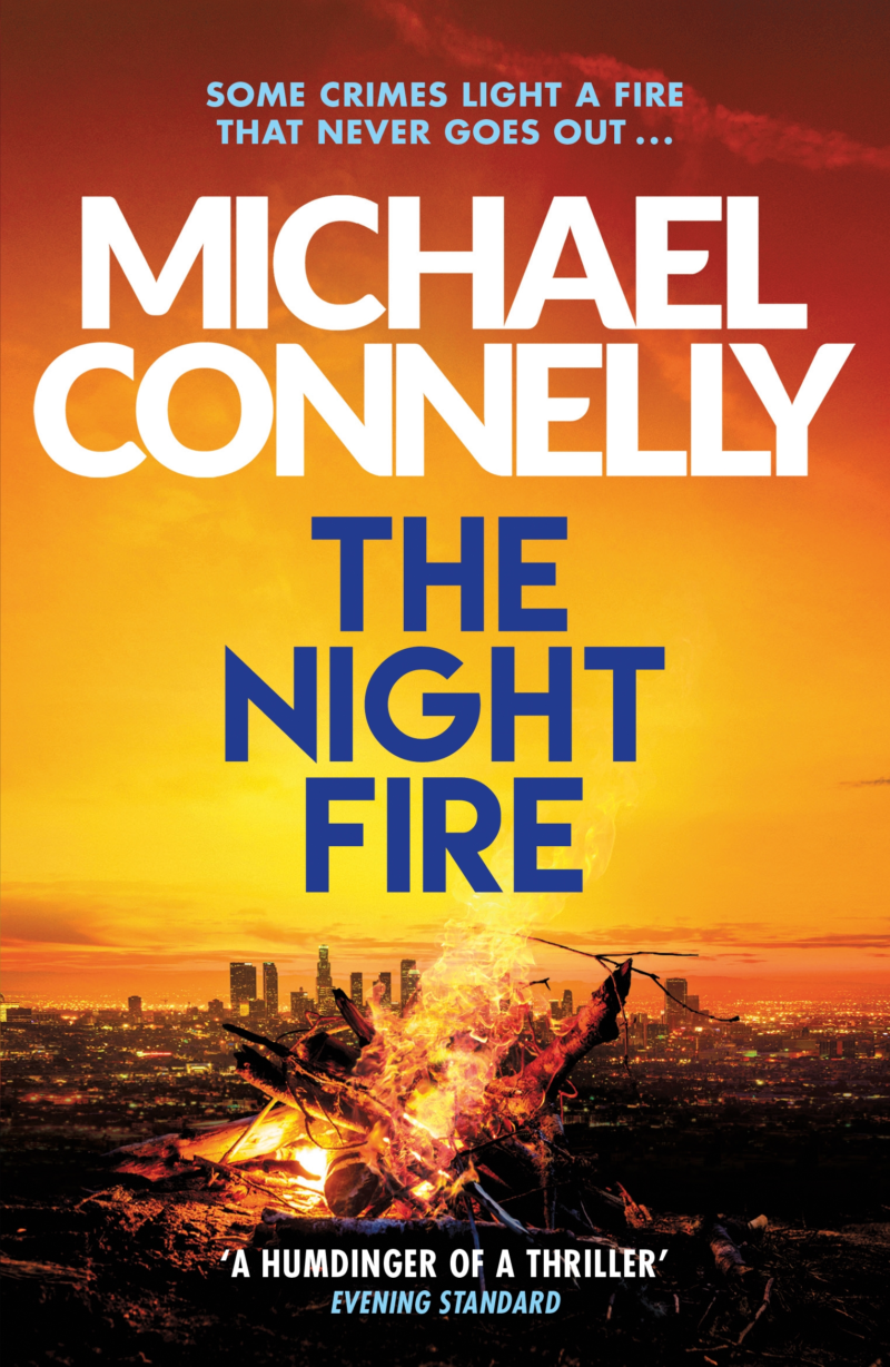 The Night Fire paperback (UK)