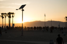 Venice Beach Sunset - The Late Show